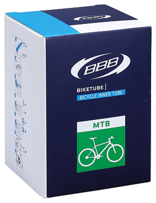 Велокамера BBB, цвет: черный, 26 х 1, 3/8, AV