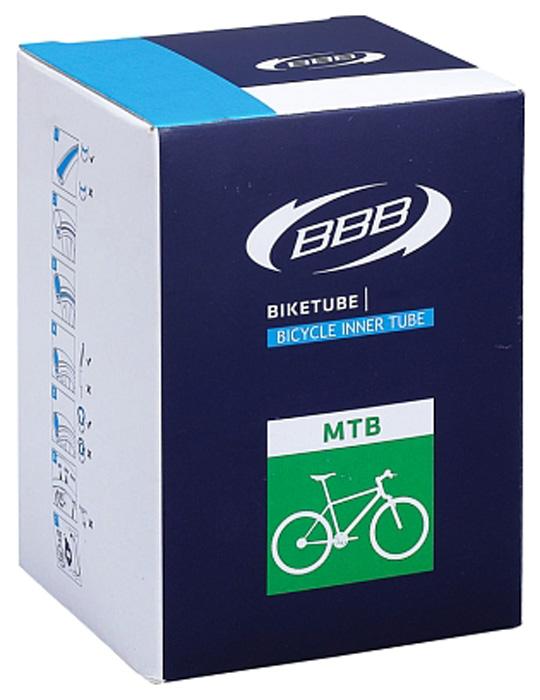 Велокамера BBB, BTI-68, черный, 27.5 х 3.0, FV, 48 мм камера велосипедная bbb 27 5 2 10 2 35 fv 33mm защита от проколов велониппель bti 68