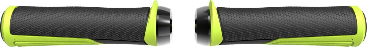Грипсы BBB Cobra, цвет: желтый, черный, длина 142 мм, 2 шт
