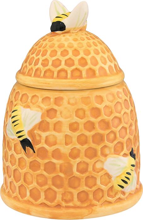 Горшочек для меда Elan Gallery Пчелки на сотах, 450 мл горшочек для меда elan gallery пчелки на сотах 300 мл