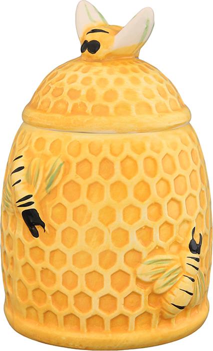 Горшочек для меда Elan Gallery Пчелки на сотах, 300 мл горшочек для меда elan gallery пчелки на сотах 300 мл