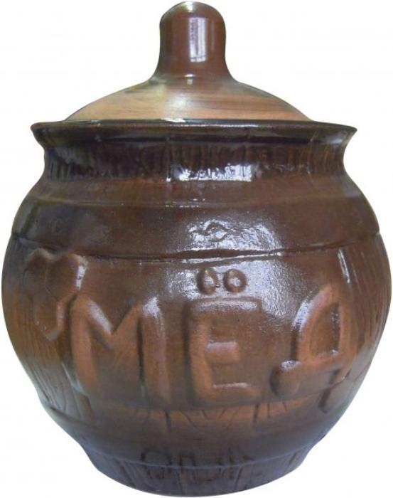 Горшочек для меда Борисовская керамика Cтандарт, 0,9 л. СТР00000391