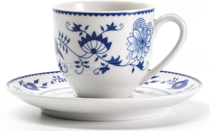 Кофейная пара La Rose Des Sables Ognion Bleu, 100 мл чайник заварочный la rose des sables bleu sky 1 7 л