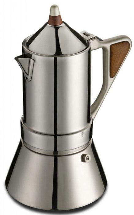 лучшая цена Гейзерная кофеварка 171004, Нержавеющая сталь