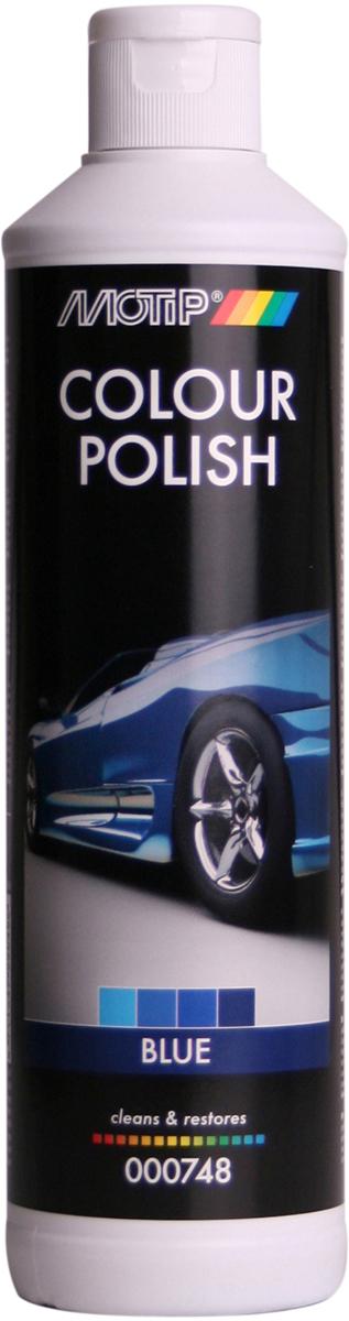 Полироль автомобильный Motip Black Line, цветообогащенный, синий, 500 мл автошампунь goodyear gy000800 с полирующим эффектом 500 мл