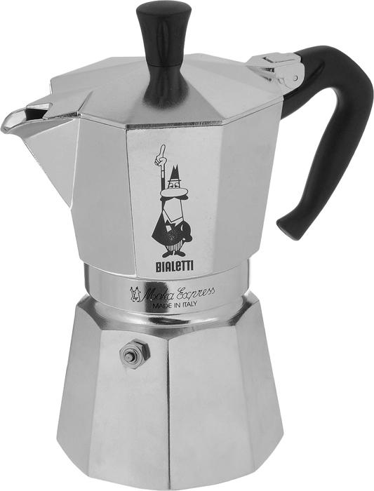 Кофеварка гейзерная Bialetti Moka Express, на 6 чашек, 300 мл цена
