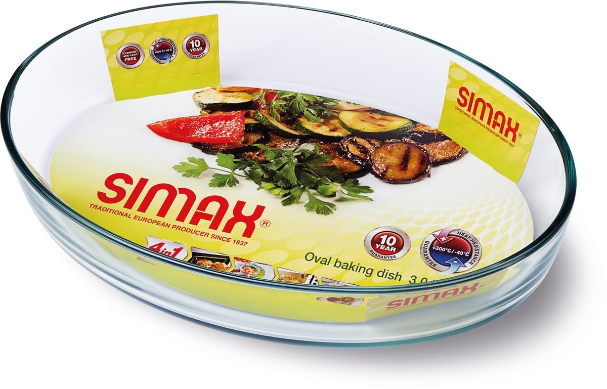 """Форма для выпечки Simax """"Classic"""", 30 х 21 х 6 см"""