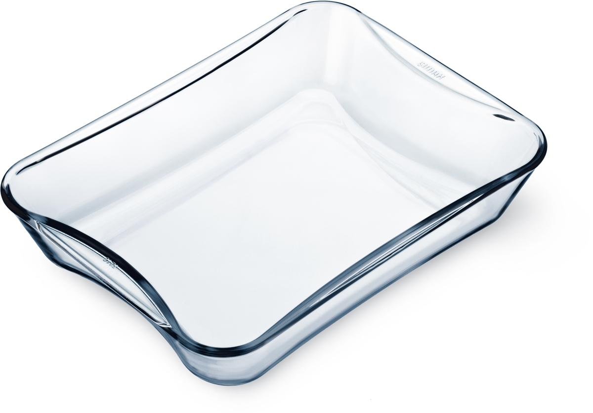 Форма для выпечки Simax Exclusive, 27 х 18 х 6 см набор форм для выпечки simax exclusive круглые 3 шт