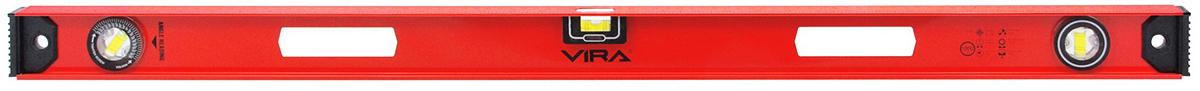 """Уровень """"Vira"""", магнитный, 3 глазка, 1000 мм"""