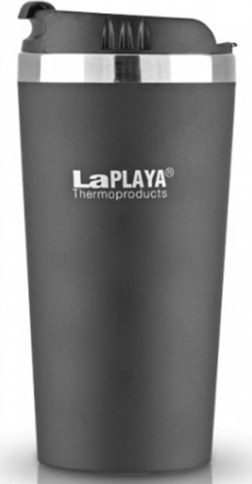 Кружка-термос LaPlaya Mercury Mug, цвет: черный, 0,4 л термос стальной laplaya mercury red 1 л