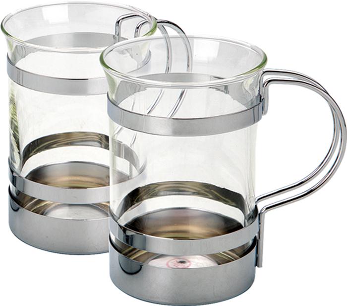 Набор чайный Augustin Welz AW-2005, Закаленное стекло, Хромированная поверхность, Металл цена 2017