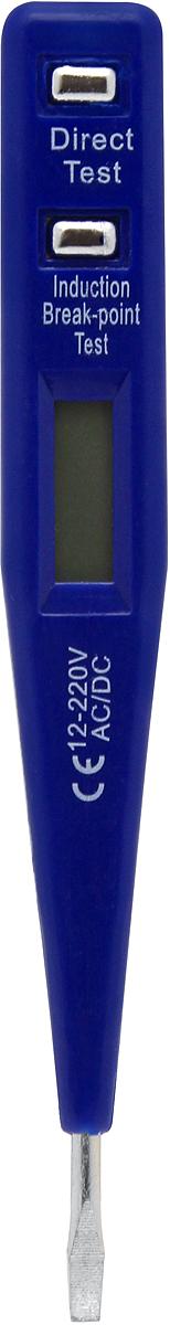 Отвертка индикаторная Kroft, с ЖК-дисплеем 220В. 203230 отвертка kroft 203018