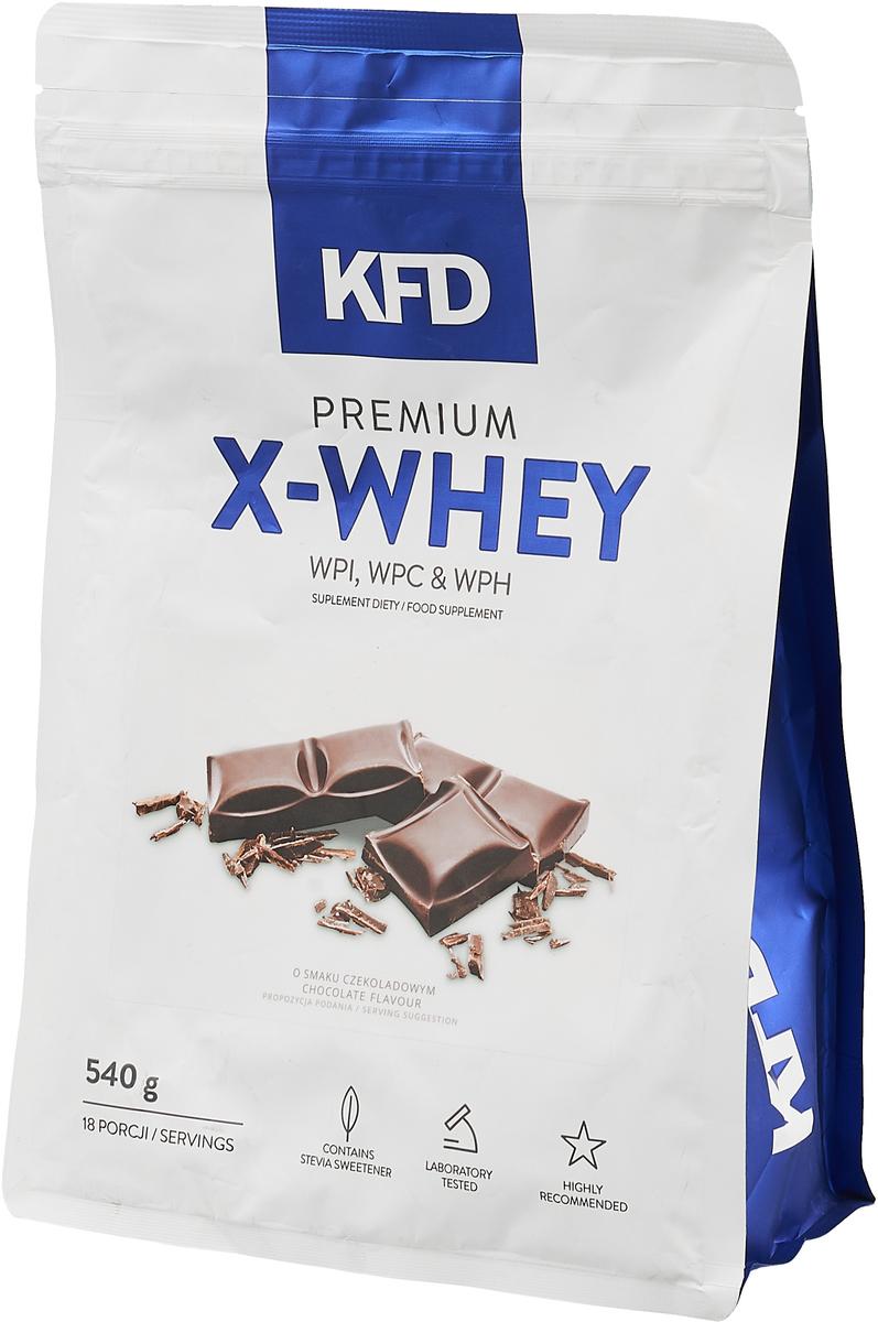 """Протеин KFD """"Premium X-Whey"""", шоколад, 540 г"""