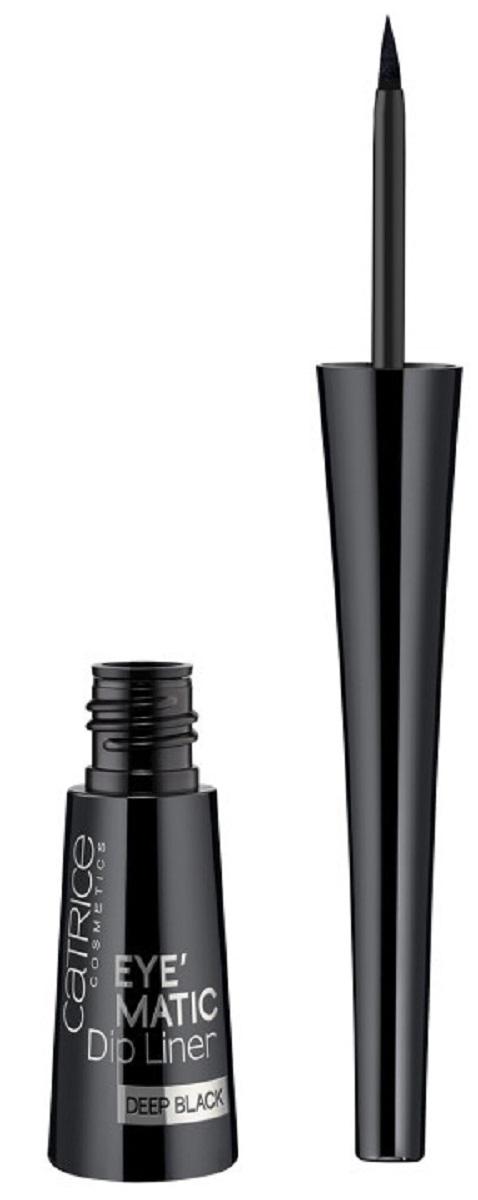CatriceПодводка для глазEyeMaticDipLinerDeepBlack010суперчерная, цвет: черный catrice подводка для глаз glam