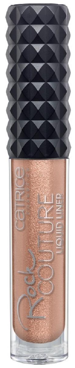 CatriceПодводка для глазRock Couture Liquid Liner 030 Guns N' Rosegold розовое золото, цвет: медь catrice подводка для глаз glam