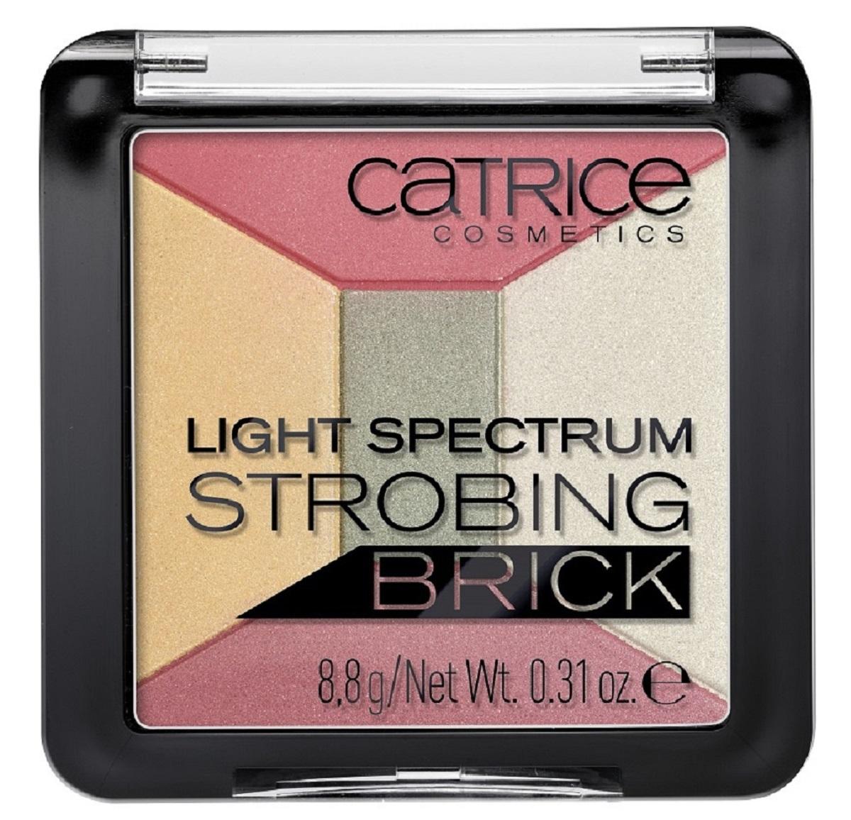 CatriceХайлайтер мультицветный 5 в 1 Light Spectrum Strobing Brick 20 Spirit of Africa, цвет: разноцветный