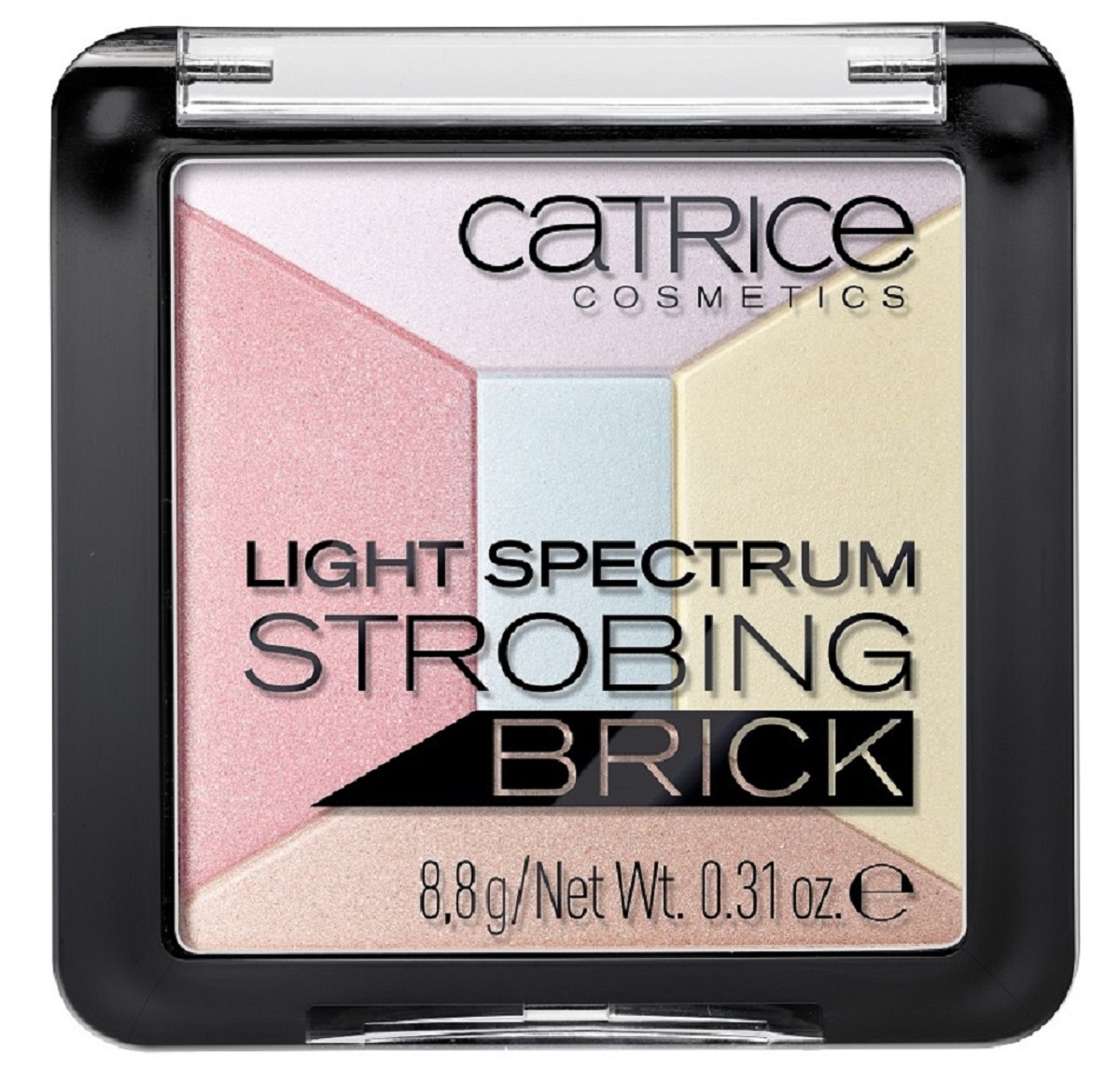 CatriceХайлайтер мультицветный 5 в 1 Light Spectrum Strobing Brick 30 Candy Cotton, цвет: разноцветный