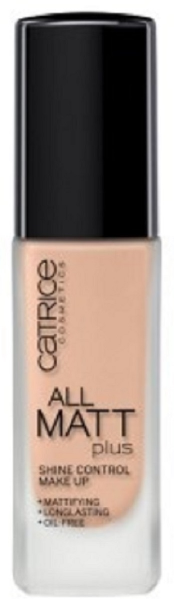 CatriceОснова тональная All Matt Plus Shine Control Make Up015VanillaBeige, цвет:ванильно-бежевый