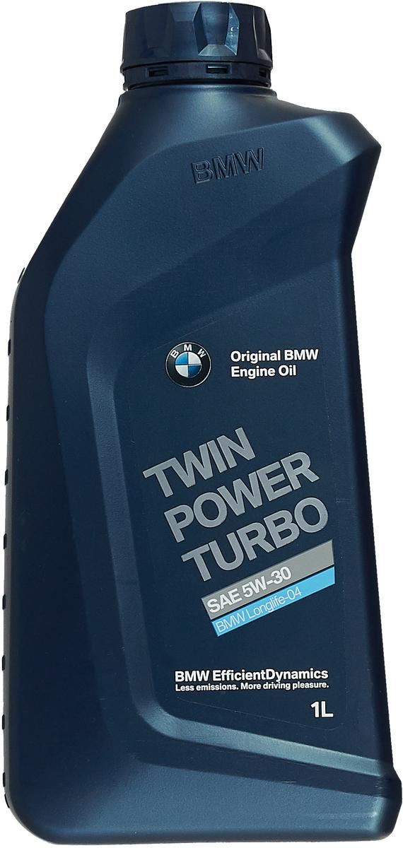 """Моторное масло BMW """"TwinPower Turbo Longlife-04"""", класс вязкости 5W-30, 1 л"""