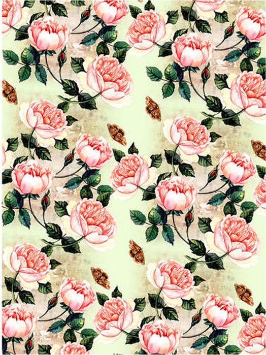 Рисовая бумага для декупажа Craft Premier Розы, формат А3 рисовая бумага для декупажа craft premier шебби розы a3