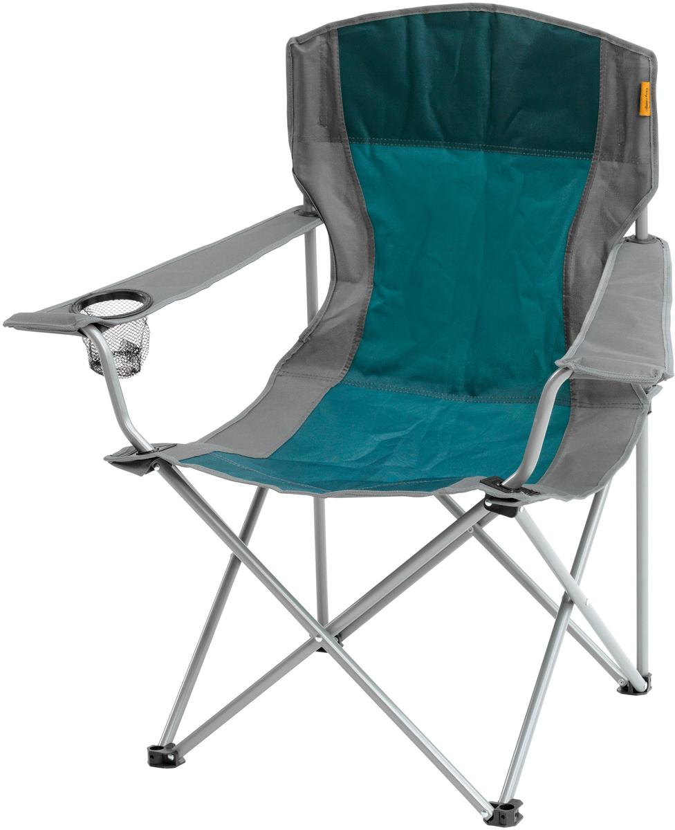 Кресло складное Easy Camp Arm Chair Petrol, цвет: голубой, 82 х 53 х 88 см кресло складное larsen camp fcl 4134