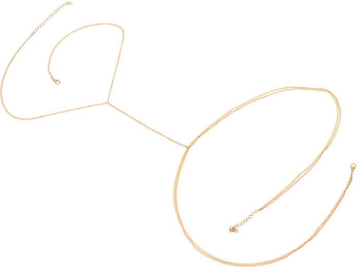 Колье для тела женское Bradex Даяна, цвет: золотистый. AS 0431 колье для тела bradex вингс