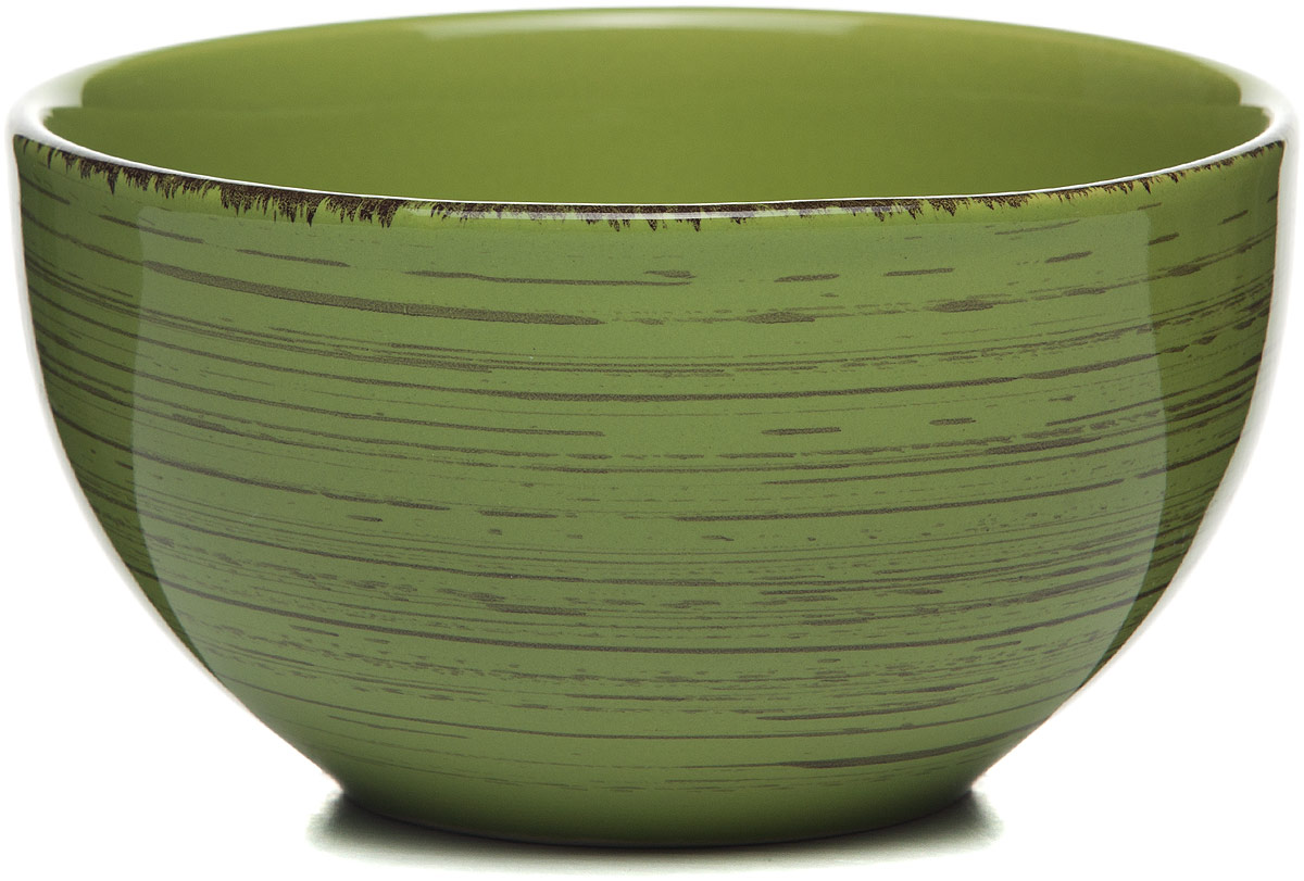 Салатник Gotoff , цвет: зеленый, диаметр 14 см тарелка gotoff цвет белый диаметр 20 5 см