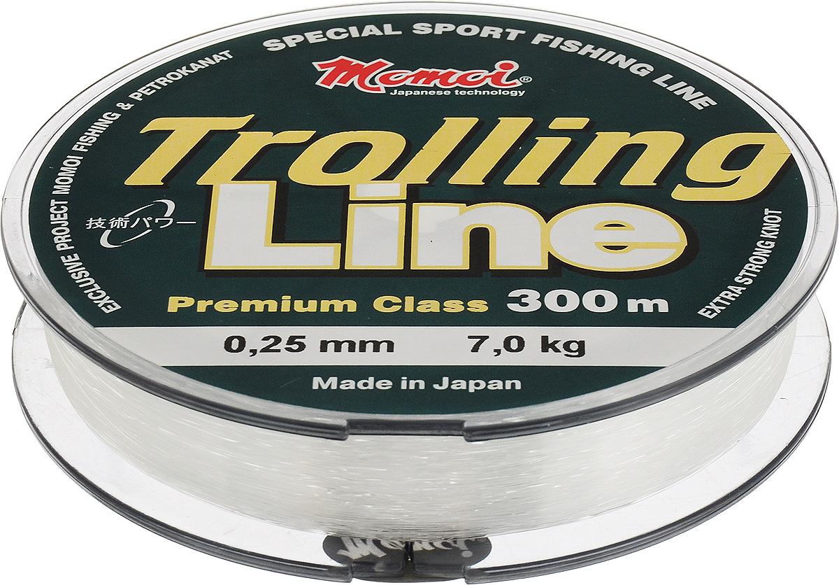 Леска Momoi Fishing Trolling Line, 0,25 мм, 7,0 кг, 300 м