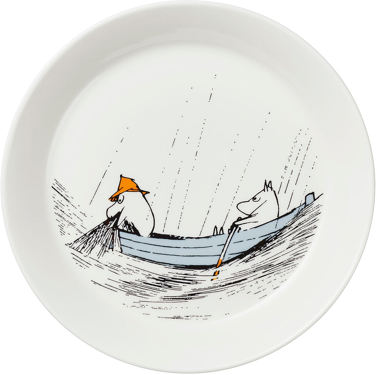 "Тарелка Moomin ""К истокам"", диаметр 19 см"