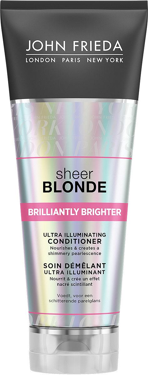 John Frieda Sheer Blonde Brilliantly Brighter Кондиционер для придания блеска светлым волосам, 250 мл недорого