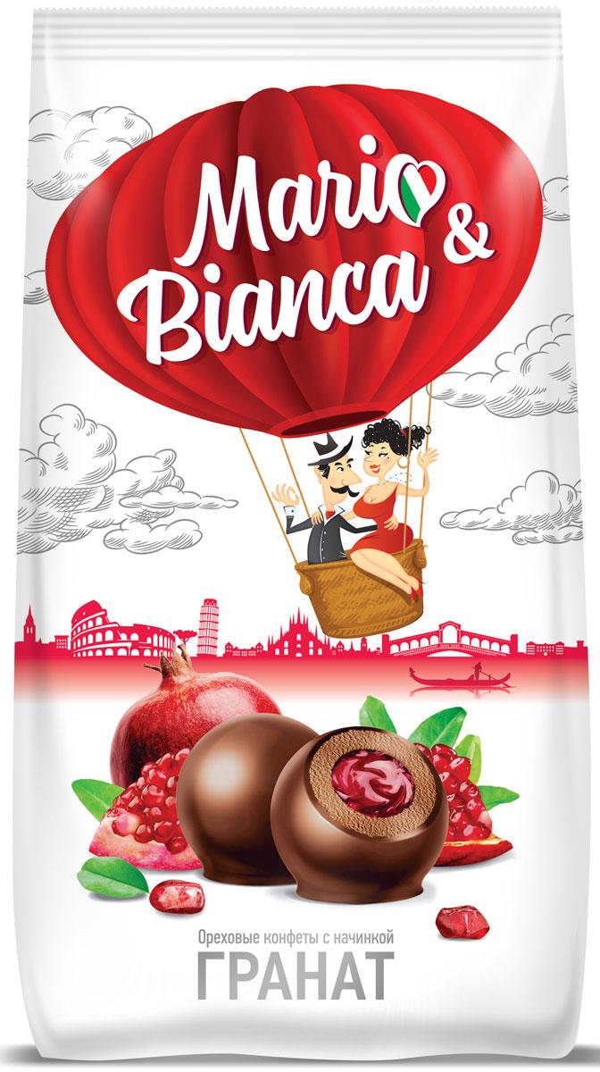 Mario & Bianca конфеты ореховые с гранатом, 190 г