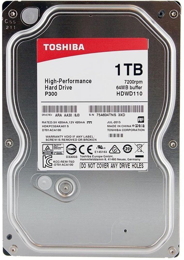 1 ТБ Внутренний жесткий диск Toshiba HDWD110UZSVA (HDWD110UZSVA)