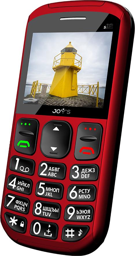 Мобильный телефон Joys S12, красный