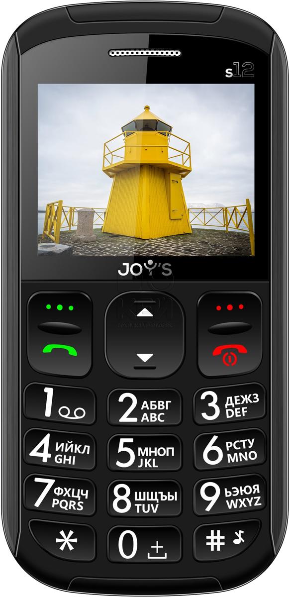 Мобильный телефон Joys S12, черный