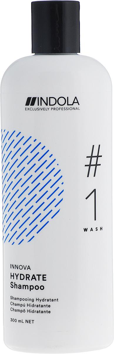 Indola Увлажняющий шампунь Hydrate Shampoo 300 мл шампунь indola repair shampoo объем 300 мл