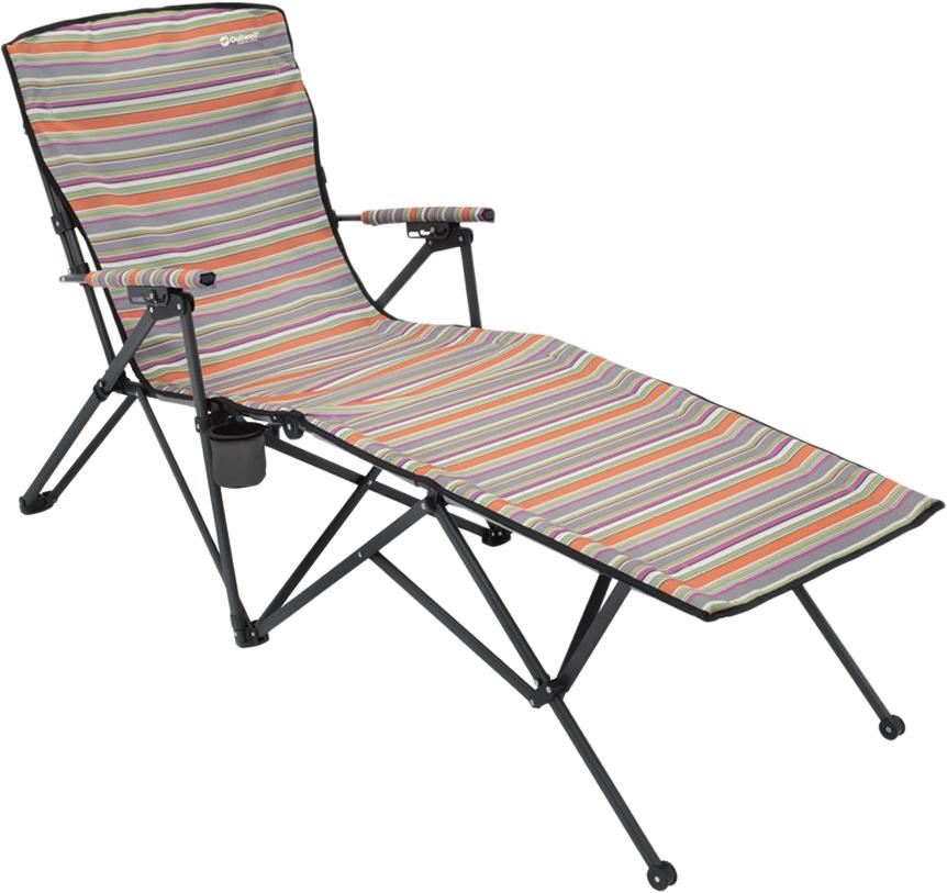 Кресло-шезлонг Outwell Leona Summer, 54/65 х 173 х 106 см складной шезлонг для дачи olsa альберто 2