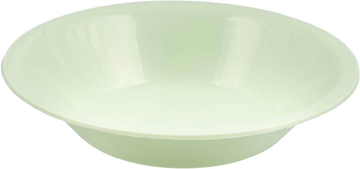 Тарелка глубокая Gotoff, цвет: мятный, диаметр 18,5 см тарелка глубокая gotoff цвет фисташковый диаметр 18 5 см