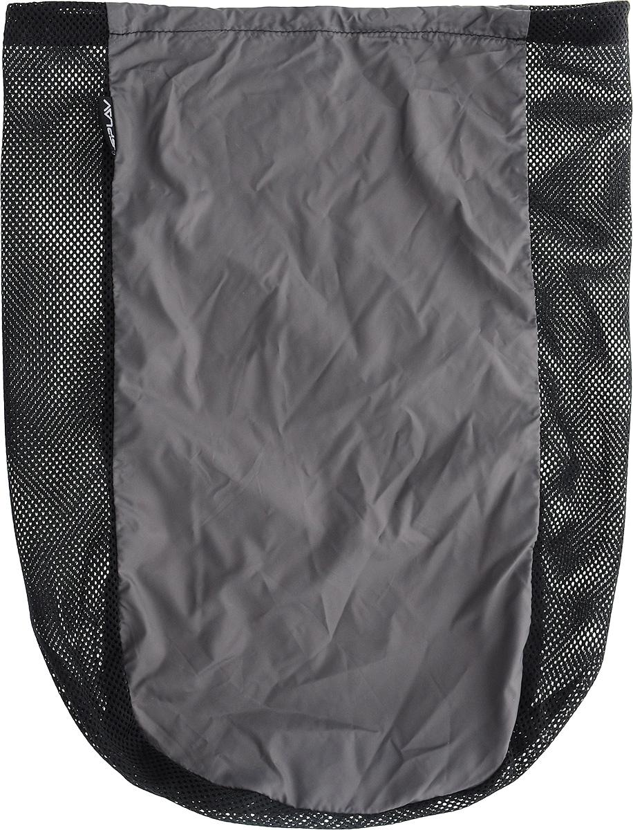 Мешочек сетчатый Сплав, универсальный, цвет: черный, 29 х 42 см