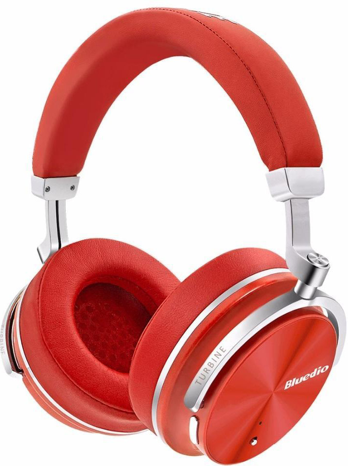 лучшая цена Bluedio T4, Red bluetooth-наушники