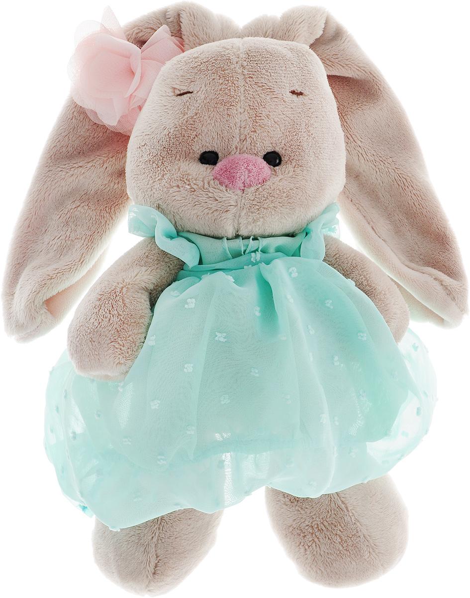 Мягкая игрушка Зайка Ми в платье зайка ми мягкая игрушка зайка ми балерина 18 см 1157444