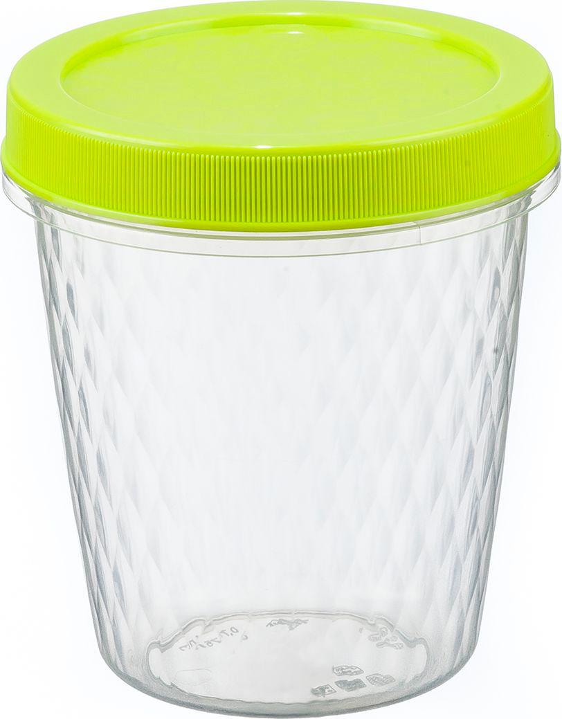 Контейнер для продуктов Idea, цвет: салатовый, 0,78 л контейнер для хранения idea прямоугольный цвет салатовый прозрачный 8 5 л