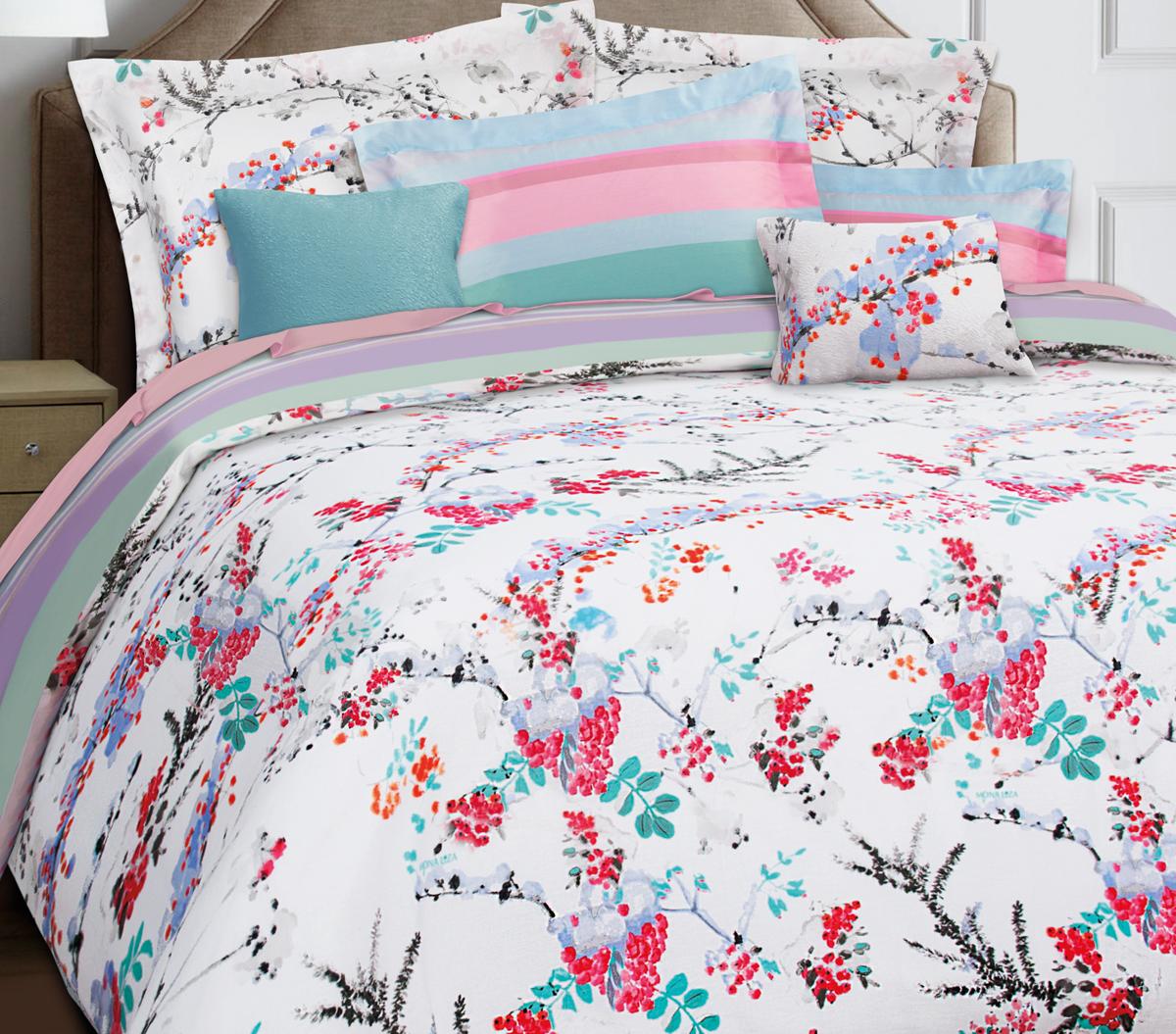 Комплект белья Mona Liza Premium Atelier 4 Seasons, семейный, наволочки 50х70, 70х70. 5045-004 комплект полутораспальный mona liza nensy