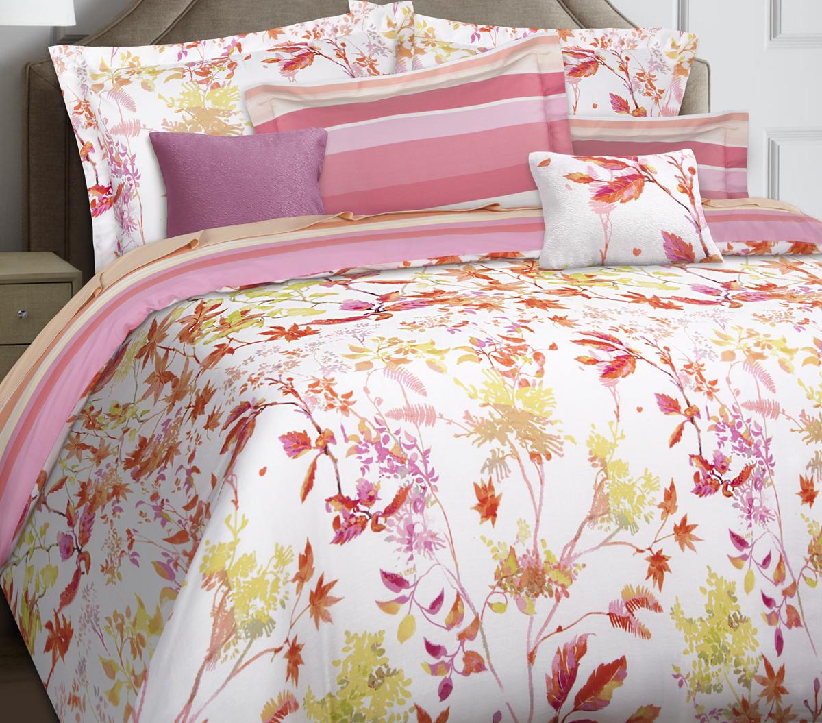 Комплект белья Mona Liza Premium Atelier 4 Seasons, евро, наволочки 50х70, 70х70. 5049-001 комплект постельного белья mona liza royal роза 5439 04 евро наволочки 70х70 50х70