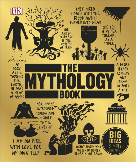 The Mythology Book: Big Ideas Simply Explained greek mythology the legend of the gods western story book chinese edition