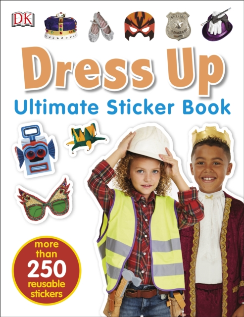 Dress Up Ultimate Sticker Book creative removable 3d beach toilet floor sticker
