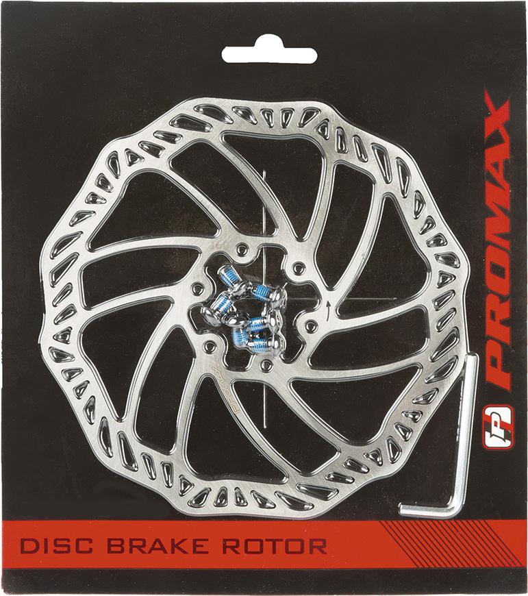 Тормозной диск PROMAX 203 мм, включающий болты и ключ