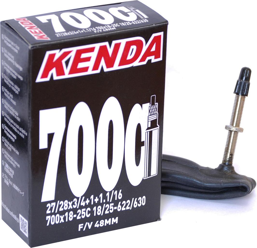 Камера 28'' 700x18 - 25C Шоссейная, Presta f/v-48 мм камера b twin камера велосипедная 700 х 18 25 мм с клапаном presta 80 мм