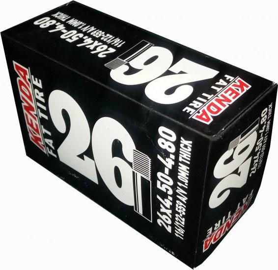 Камера 26''x4.50- 4.80, для Фэт Байк, a/v велокамера kenda 26 x3 00 для downhill a v