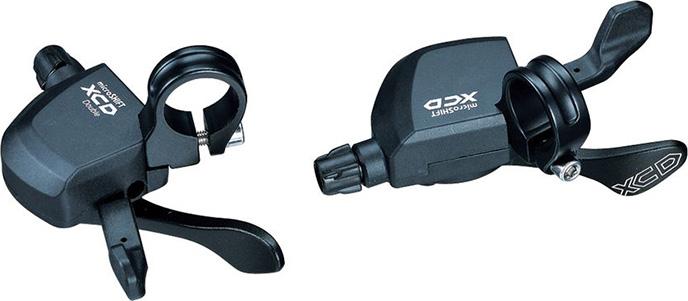 Шифтеры Microshift XCD, 3x10ск, аналог XT, SLX