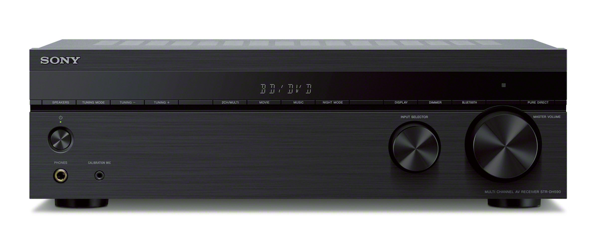 AV-ресивер Sony STR-DH590, black цена